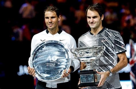 'Roger Federer and Nadal are on 20 grand slams each and ...