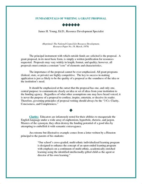 7+ Examples Of Proposals  Procedure Template Sample