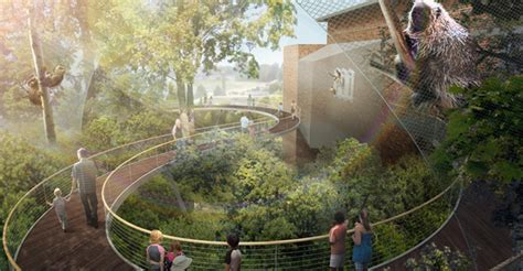 museum unveils bold  designs  campus reinvention
