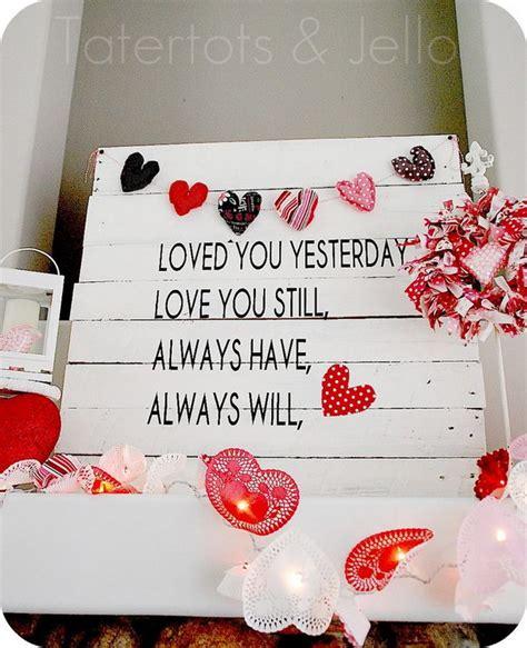 beautiful valentines day mantel decorations