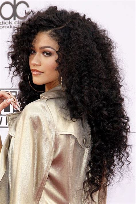 zendaya coleman hair steal  style page  hair