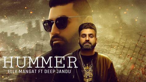 Hummer || Elly Manget || Karan Aujla || Full Video Poster