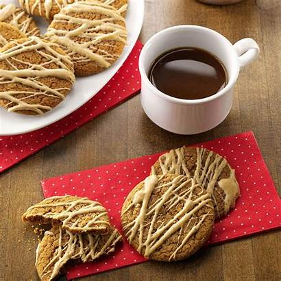Cookies Coffee Molasses Glazed Recipe Taste Cookie