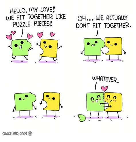 We Fit Together Like Puzzle Pieces Quotes