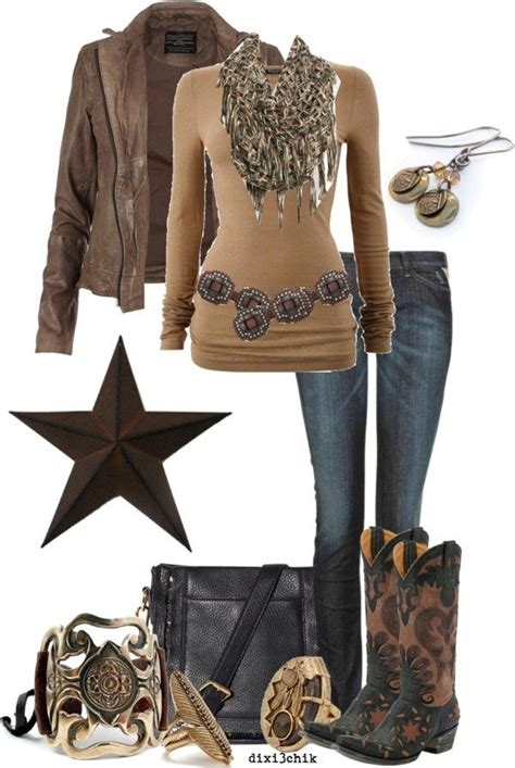 U0026quot;Bootsu0026quot; by dixi3chik on Polyvore. | Western Fashion u0026 Style | Pinterest | Clothes Polyvore and ...