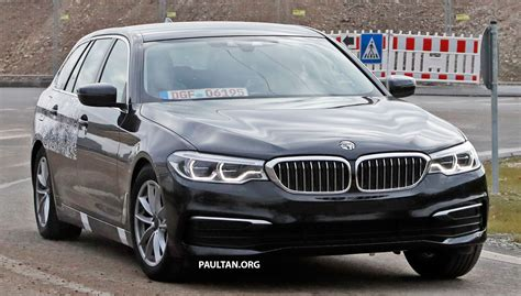 Bmw 5 Series Touring Backgrounds by Spied G31 Bmw 5 Series Touring With Less Camo