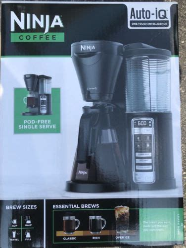 The ninja coffee maker has far superior quality than other cheaper brands. Filter Coffee Machines 184665: Ninja Coffee Smart Coffee Maker - Auto-Iq - Cf020 -> BUY IT NOW ...