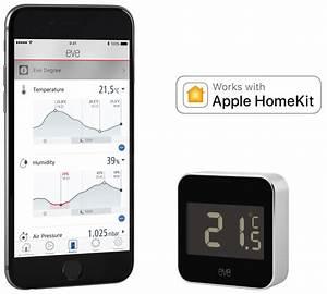 Apple Homekit Homematic : eve degree eve degree temperatur feuchtigkeitssensor ~ Lizthompson.info Haus und Dekorationen