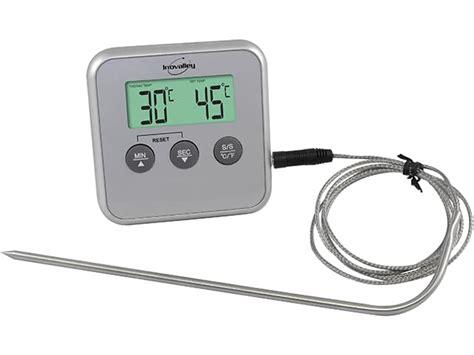 thermomètre à sonde cuisine thermomètre de cuisson et de four à sonde amovible 0 c à