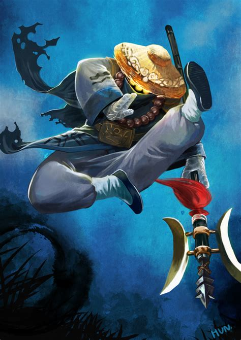 temple jax league  legends fan art art  lol