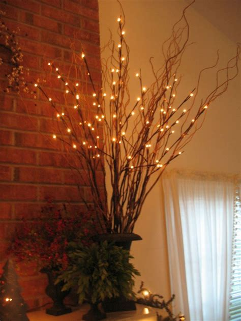 lighted branch tree 35 best branch decorations images on tree