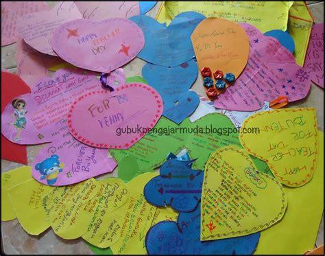 membuat kartu ucapan  guru kata kata mutiara