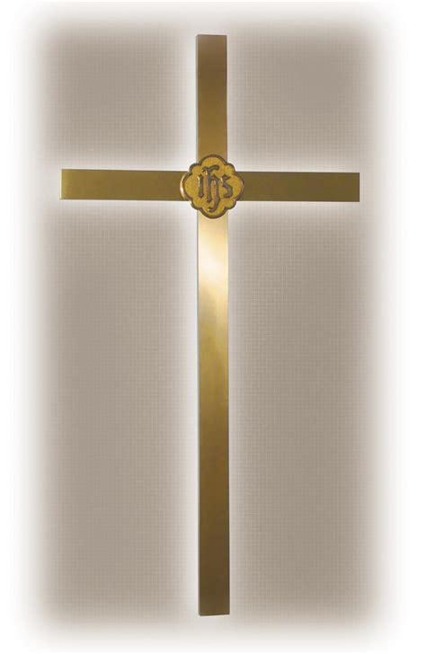 brass backlit lighted wall cross item rw 2048l southeast