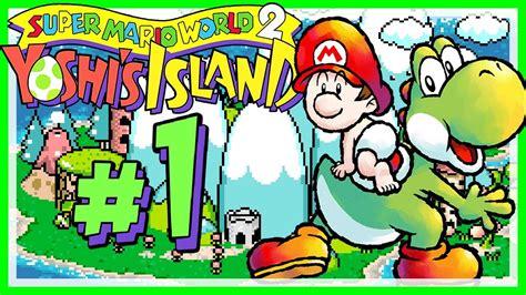 Yoshis Island 01 👶 Baby Mario Landet Auf Yoshis Island