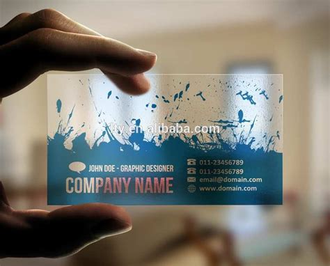 Clear Plastic Business Cards Business Visa Cards Uk Buy Online Free Template Printable Today Near Me Make Your Own Moo Font Size Heavy Stock With Logo