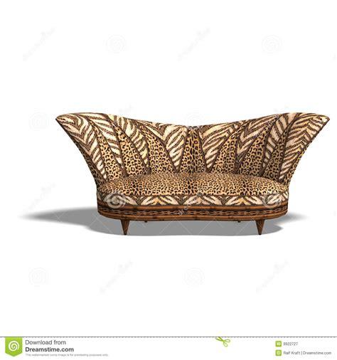 cushy sofa  african design royalty  stock