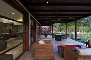 courtyard, house, by, hiren, patel, architects