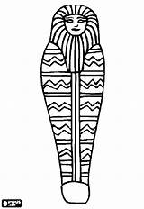 Egypt Ancient Drawing Sarcophagus Coloring Egyptian Casket Coffin Mummy Clipartmag Getdrawings sketch template