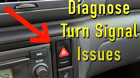turn signals dont work diagnosis youtube