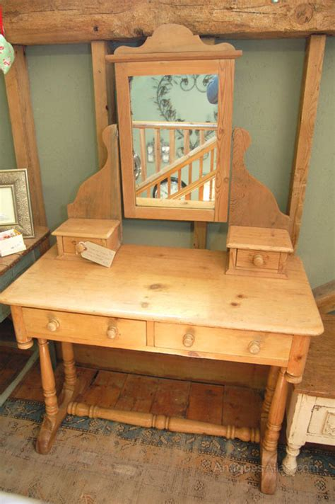 victorian pine dressing table antiques atlas