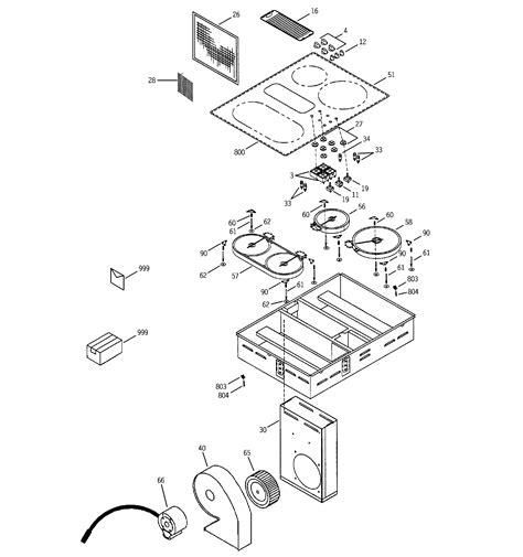 ge model jpbdbb counter unit electric genuine parts