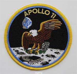 APOLLO 11 NASA CLOTH PATCH-IRON ON | eBay