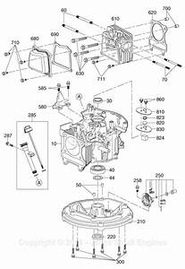 Robin  Subaru Ea175v75080 Parts Diagram For Crankcase