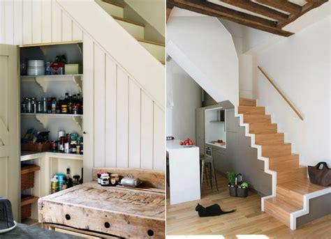 cuisine sous escalier meubles sous escalier sur mesure et idées d 39 aménagement