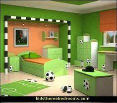 gyerekszoba on Pinterest | Soccer Bedroom, Soccer Room and ...