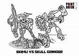 Coloring Bionicle Lego Grinder Colorare Da Pages Ekimu Disegni Skull Per Brick Point Sull Immagine Clicca Gratuitamente Scaricarla Designlooter Popular sketch template
