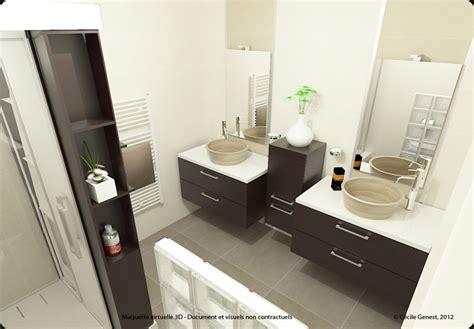 bricorama salle de bain 3d projet deco projets 3d de salles de bain 171 tendances