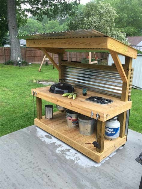25 Best Ideas About Simple Outdoor Kitchen On