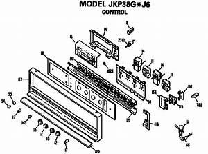 Ge Jkp38gj6 Electric Wall Oven Parts