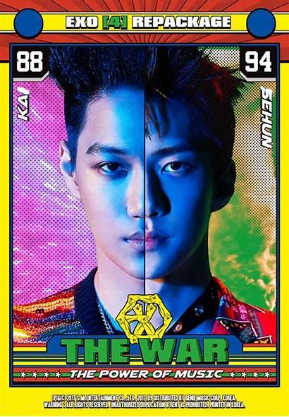 Exo Kai Sehun Teaser Power Card Chanyeol