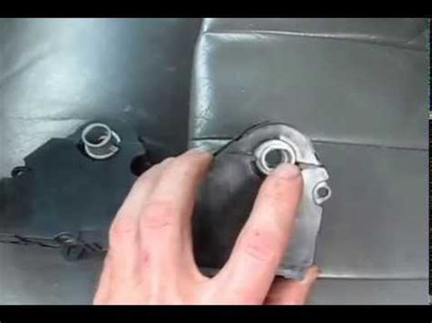 gmc envoy hvac actuator replacement youtube