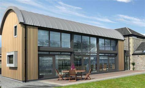 Dutch Barn Frame Within A Home