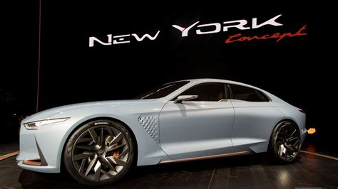 Genesis' New York Concept Is A Sports Sedan That'll Make