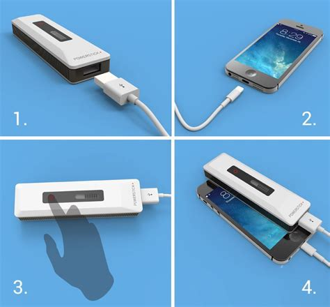 how to charge iphone 4 without charger how do i charge my phone powerstick