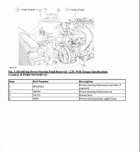2004 Ford Ranger Exhaust System Diagram