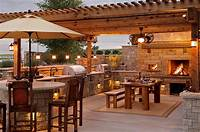 nice outdoor kitchen ideas Various Types of Great Outdoor Kitchen Roof Ideas - Home Design Gallery