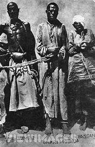 African Slave Trade | Three captured Arab-African slave ...