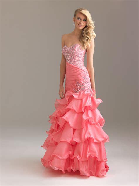 Pink Prom Dresses 1 8 Dresscab