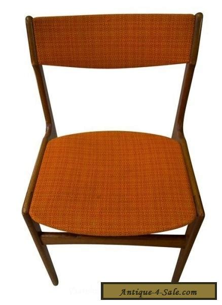 6 teak dining chairs mid century modern for sale in
