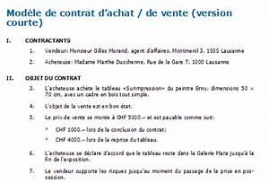 Vente Entre Particulier Objet : achat et vente d 39 un objet mod le de contrat t l charger ~ Gottalentnigeria.com Avis de Voitures