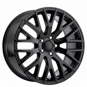 "20"" Ford Mustang Performance Wheels Gloss Black OEM Replica Rims #OEM123-3"