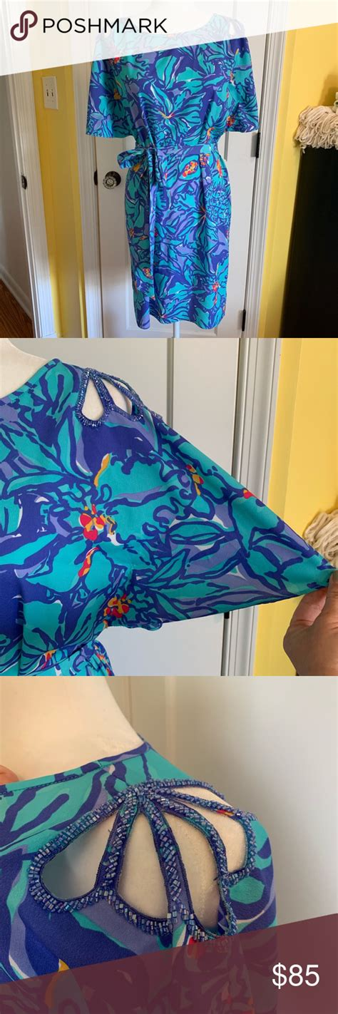 foto de Lilly Pulitzer Mai Tai kimono dress A stunning Lilly