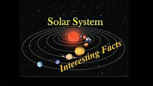 Solar System planets Interesting Facts for Kids - YouTube