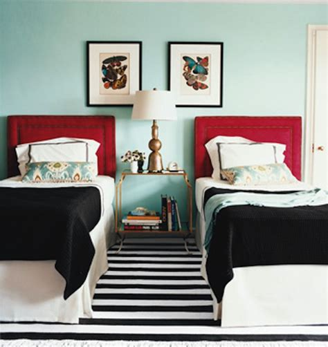 Color Scheme Turquoise And Red  Eclectic Living Home