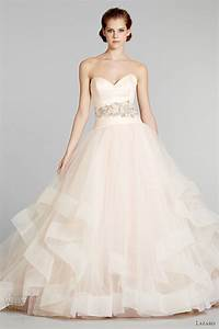 lazaro fall 2012 wedding dresses wedding inspirasi page 4 With blush pink wedding dress