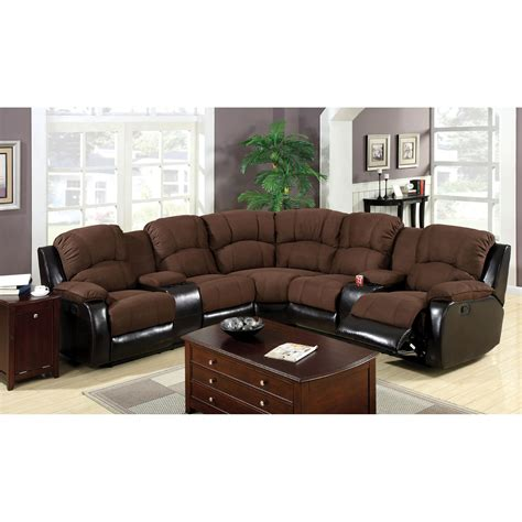 Sectional With Recliners by Venetian Worldwide Wolcott Reclining Sectional Home